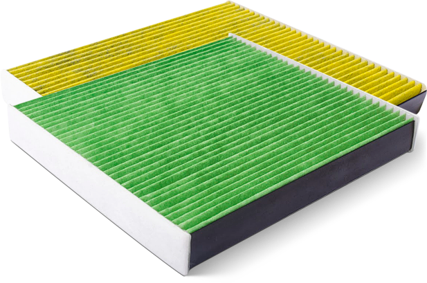 Biofunctional Cabin Air Filters