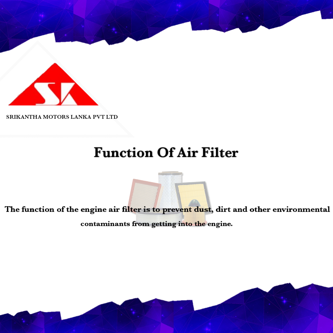 Function Of Air Filter